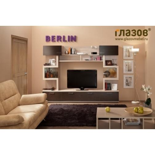 Глазовская МФ Гостиная Berlin композиция 4-1293869