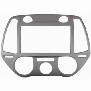 Переходная рамка Intro RHY-N40 для Hyundai i-20 2012+ 2DIN Silver Intro-834962