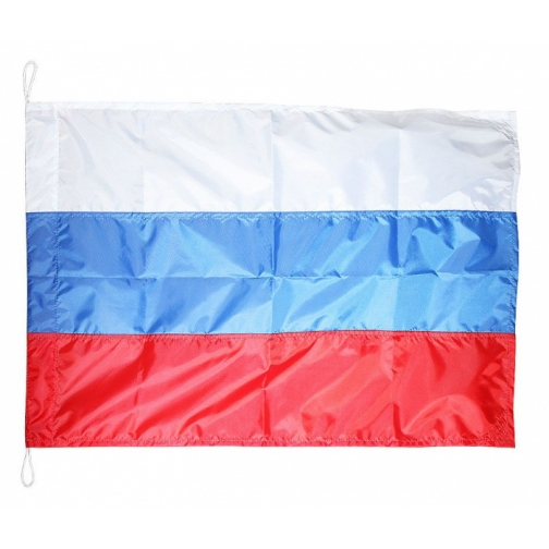 Флаг России, шитый, 60х90 см (10259201)-6905977