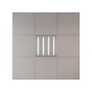 Потолочная плита Presko Сити 59.5х59.5 металлик