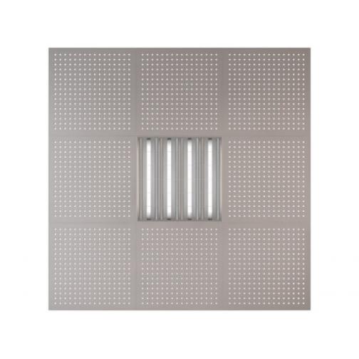 Потолочная плита Presko Сити 59.5х59.5 металлик-6768520