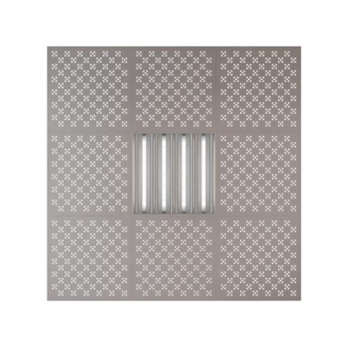 Потолочная плита Presko Техно 59.5х59.5 металлик-6768522