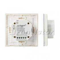 Arlight Панель Sens SR-2830C-RF-IN White (12-24V, RGB+CCT,DMX,4зоны