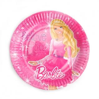 "Набор тарелок ""Барби"", 6 штук Веселый праздник-37729576"