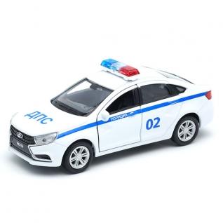 Модель машины Lada Vesta - Полиция ДПС, 1:34-39 Welly-37725649