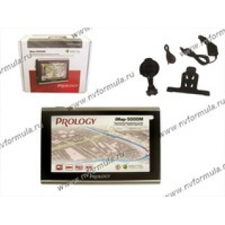 Навигатор GPS PROLOGY iMAP-5100 диагональ 127мм Навител-9060487