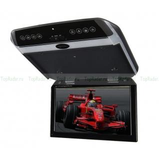 """Автомобильный потолочный монитор 10.1"""" со встроенным медиаплеером ERGO ER102FH Ergo-833441"""