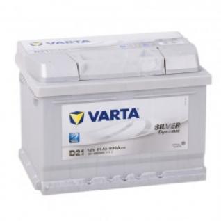 Автомобильный аккумулятор VARTA VARTA Silver D21 (61R) 600А обратная полярность 61 А/ч (242x175x175)-5789216