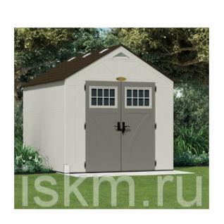 Дачный домик сборный - пластиковый хозблок Suncast Теннесси 7.9 м2 Suncast-2722