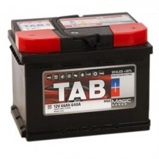 Автомобильный аккумулятор TAB TAB MAGIC 66R 640А обратная полярность 66 А/ч (242x175x190)