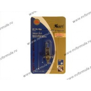 Лампа галоген 12V Н1 55W P14.5s KRAFT Pro All Weather 700108-416015