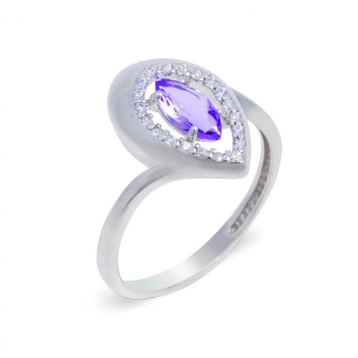 Серебряное кольцо с алпанитом TEOSA 10-231-AMC 10-231-AMC TEOSA-8918448