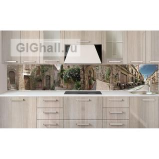 Стеклянный фартук для кухни ГОРОД-5901345