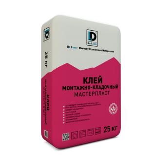 "Клей монтажный ""Мастерпласт"" De Luxe 25 кг-6433224"