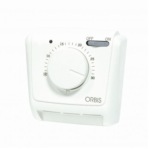 Термостат ORBIS Clima MLI мех. (вкл./выкл., индикац.) IP 20-6453704