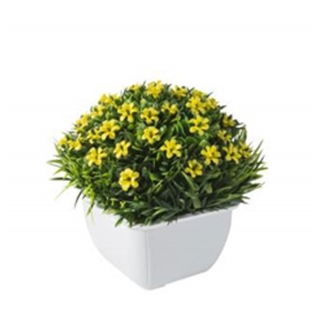Цветок искусственный GRASS желтый-7170151