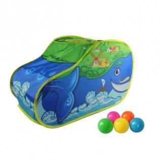 """Детская игровая палатка """"Чудо-кит"""" с шариками Shantou-37718509"""