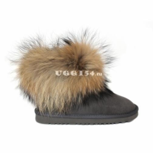 UGG Australia Mini Fox Fur Grey-903205