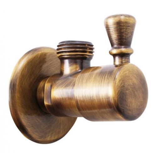 Вентиль с керамической головкой Rav Slezak ROH001Z (золото) 6760384