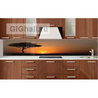 Стеклянный фартук для кухни ЗАКАТ-5901395
