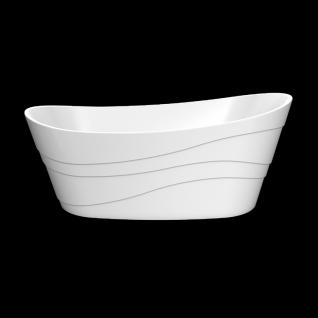 Отдельно стоящая ванна LAGARD Alya White Star