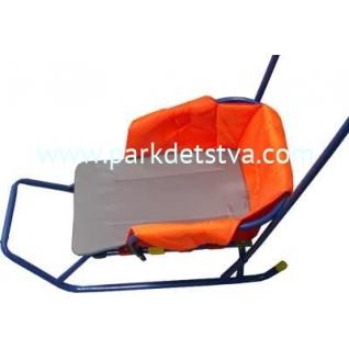 Сиденье для санок Ника без чехла для ног-847902