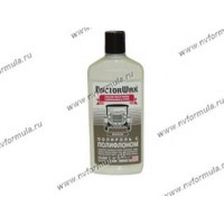 Полироль кузова Doctor Wax 8409 300мл с полифлоном белая-417965