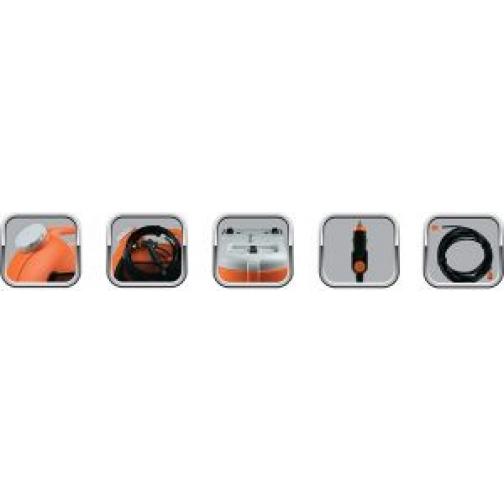 Минимойка портативная BERKUT Smart Washer SW-15 (2л/мин, 12В, 60Вт, 15л) Berkut 833059 1