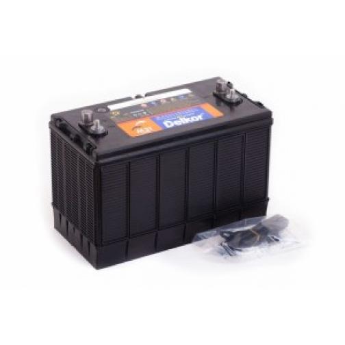 Аккумулятор лодочный DELKOR DELKOR MARINE M31MF (100L) 625А прямая полярность 100 А/ч (320x172x229)-5789441