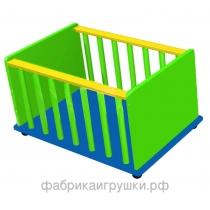 Контейнер для спортинвентаря 100х60х50 см