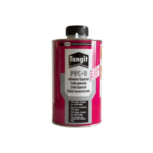 Клей Tangit PVC-U для труб из ПВХ 1 кг-5052668