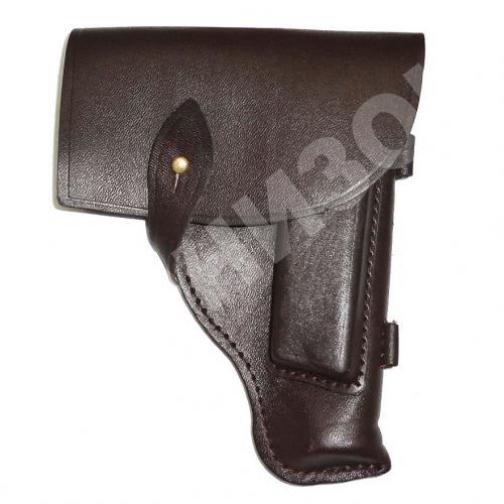Кобура от пистолета ПМ кожаная-10709