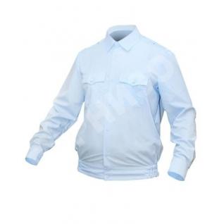 Рубашка Полиция светло-голубая с Д/Р на резинке-8170923