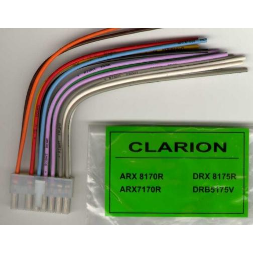 Разъем для автомобильной магнитолы CLARION ARX 8170R-1312893