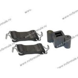 Крепеж глушителя 2101-07 21 2-а ремня с крючками домик в упаковке Балаково-419400