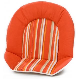 Вставка для стула Geuther Мягкая вставка для стульев Family, Filou оранжевая в полоску (цвет 147)-1962623