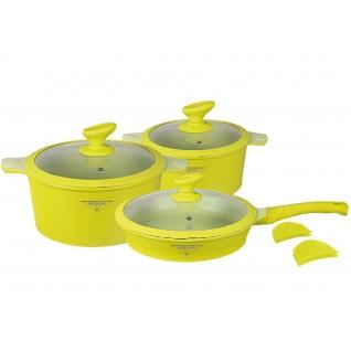 Набор посуды из литого алюминия с покрытием под мрамор MercuryHaus, 10 предметов-37774731