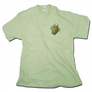 Rothco Футболка USMC желто-коричневого цвета