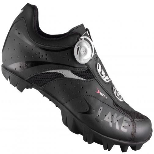 Велообувь женская Lake MX175-W, черный, 38.5-2002209