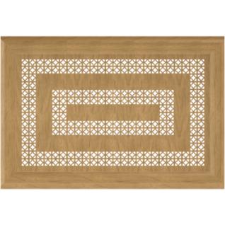Декоративный экран Квартэк Цезарь 600*600 (металлик)