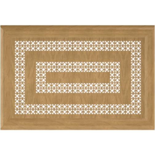 Декоративный экран Квартэк Цезарь 600*600 (металлик)-6769060