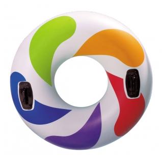 Круг Color whirl с ручками, 122 см Intex-37711719