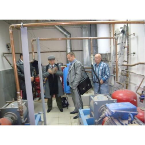 Системы отопления свинарников, насос -теплогенератор НТГ-055-465047