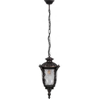 Садово-парковый фонарь Feron PL5005 60W 230V E27 темно-коричневое золото-8183326