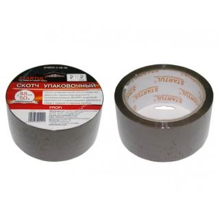Скотч упаковочный коричневый 48ммх50м STARTUL PROFI (ST9042-2-48-50) STARTUL