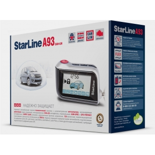 Автосигнализация StarLine A93 CAN+LIN StarLine-833900