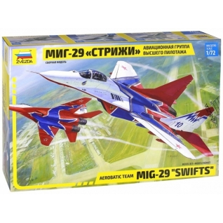 """Сборная модель истребителя """"МиГ-29"""" - Стрижи, 1:72 Звезда-37733266"""