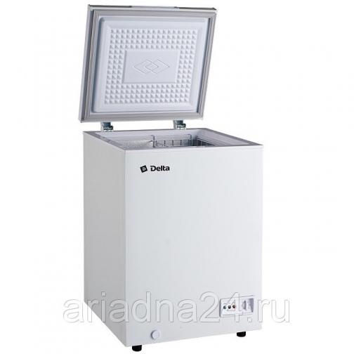 Ларь морозильный низкотемпературный 102л DELTA D-С102НК, 1 корзина Delta-6818057