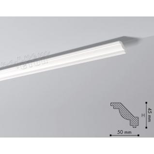 Карниз из полистирола под покраску NMC Nomastyl Plus J 2000x45x50-36983081