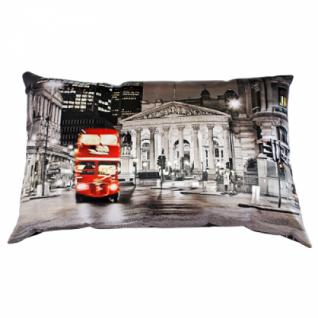 Декоративная подушка Лондон двусторонняя, в ассортименте (40х60см.)-5254731